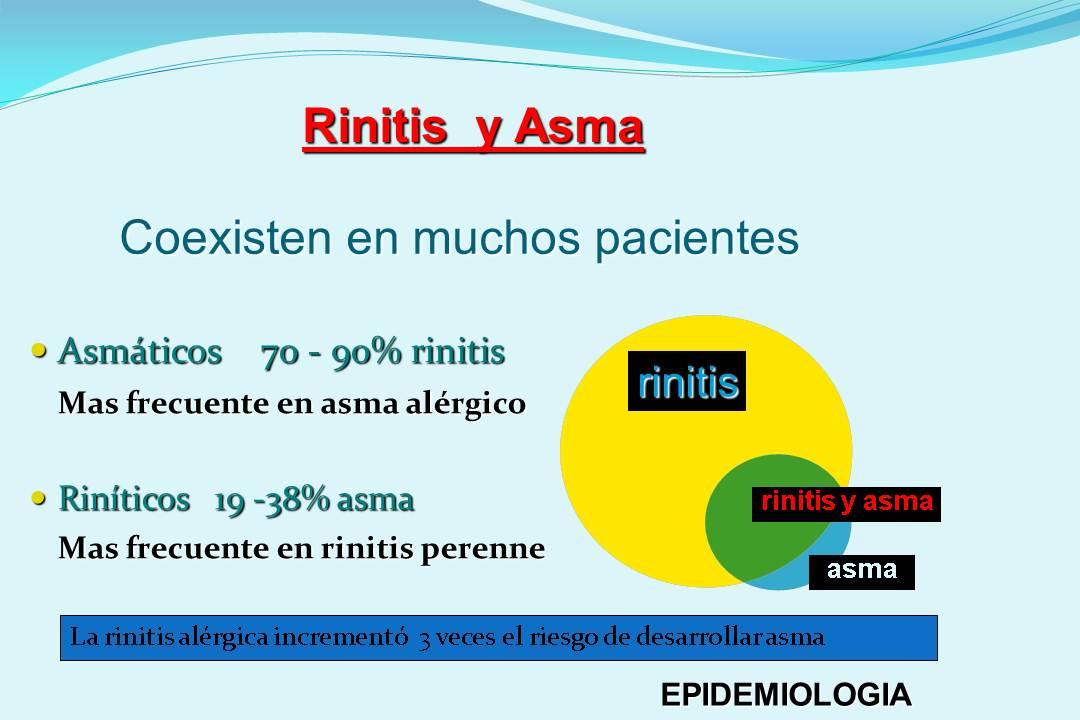 RINITIS Y ASMA, ENFERMEDAD DE UNA VÍA ÚNICA